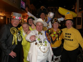 Derbyshire loonys in pub (c) Nick Delves, Monster Raving Loony Party