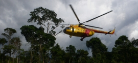 Perenco arrives in the Peruvian rainforest