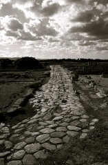 Remains of the Roman Road at Egnazia by Steve Jay